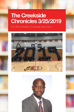 The Creekside Chronicles 3/25/2019