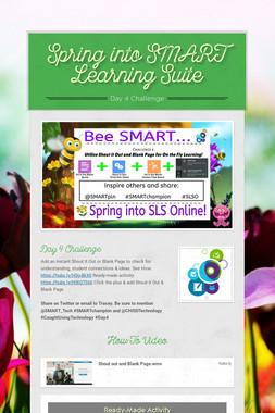 Spring into SMART Learning Suite