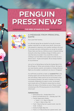 Penguin Press News