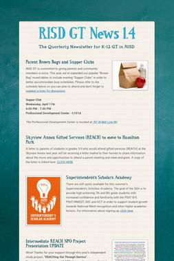 RISD GT News 1.4