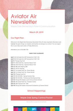 Aviator Air Newsletter
