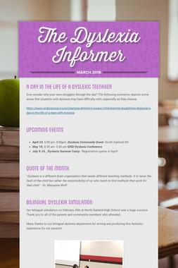 The Dyslexia Informer