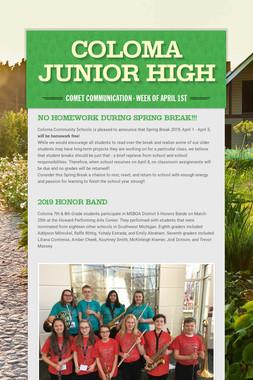 Coloma Junior High