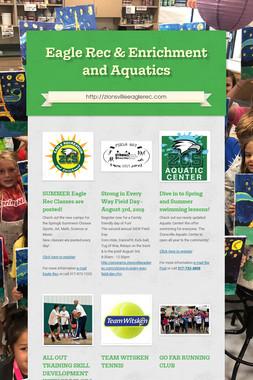 Eagle Rec & Enrichment and Aquatics