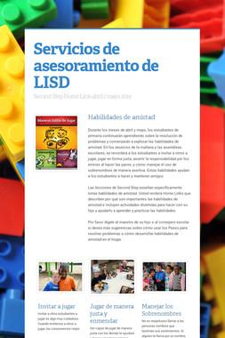 Servicios de asesoramiento de LISD