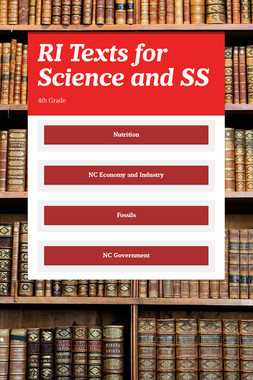 RI Texts for Science and SS