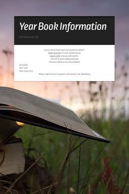 Year Book Information