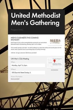 United Methodist Men's Gathering