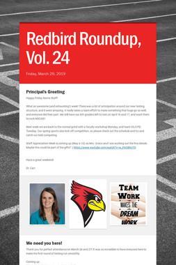 Redbird Roundup, Vol. 24