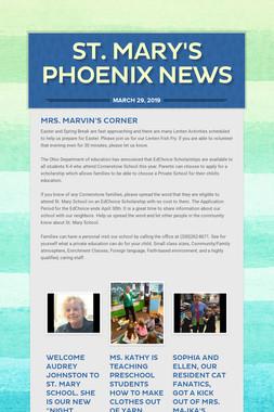 ST. MARY'S PHOENIX NEWS