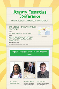 Literacy Essentials Conference