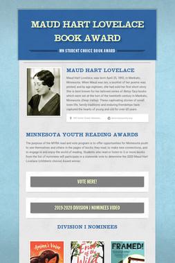 Maud Hart Lovelace Book Award