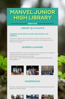 Manvel Junior High Library