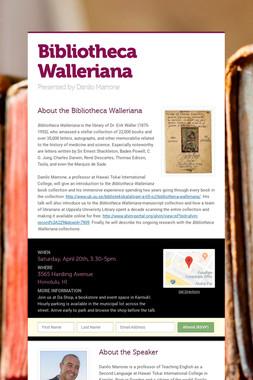 Bibliotheca Walleriana