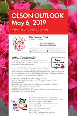 OLSON OUTLOOK   May 6, 2019