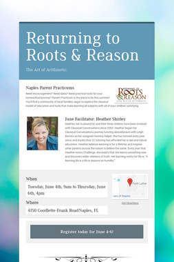 Returning to Roots & Reason