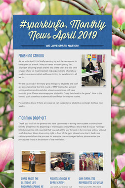 #sparkinfo. Monthly News April 2019