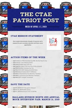 The CTAE Patriot Post