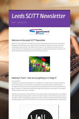 Leeds SCITT Newsletter