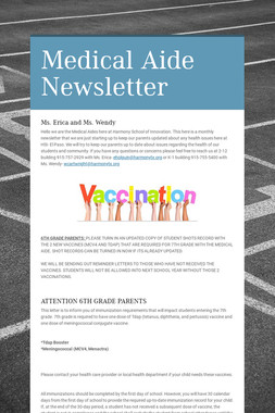 Medical Aide Newsletter
