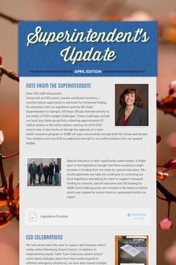 Superintendent's Update