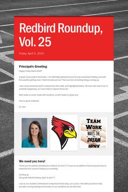 Redbird Roundup, Vol. 25