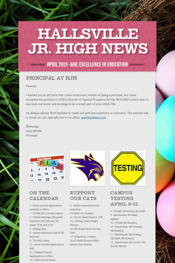 Hallsville Jr. High News