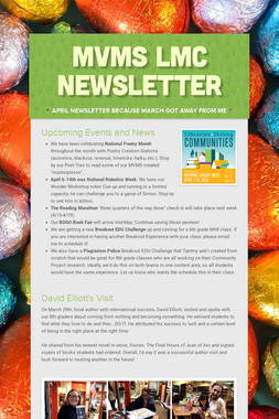 MVMS LMC Newsletter