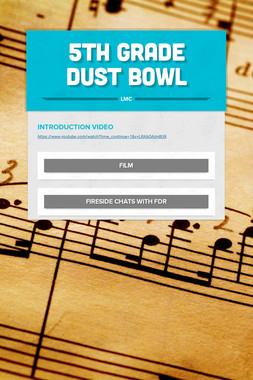 5th Grade Dust Bowl