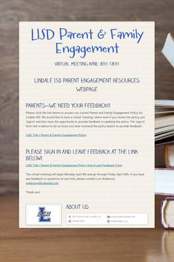 LISD Parent & Family Engagement