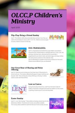 OLCC,P Children's Ministry