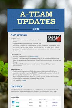 A-Team Updates