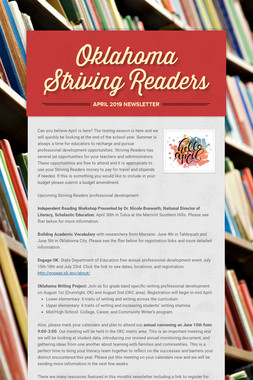 Oklahoma Striving Readers