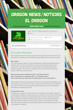 DRAGON NEWS/NOTICIAS EL DRAGON