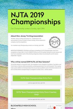 NJTA 2019 Championships