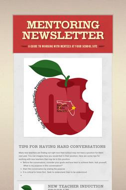 Mentoring Newsletter