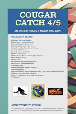 Cougar Catch 4/5
