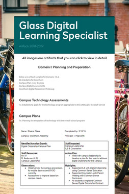Glass Digital Learning Specialist