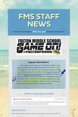 FMS Staff News