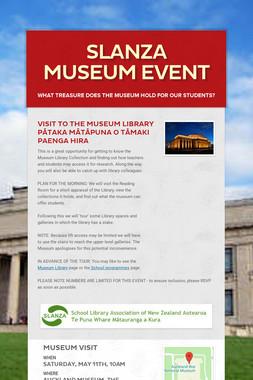 SLANZA Museum event