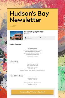 Hudson's Bay Newsletter