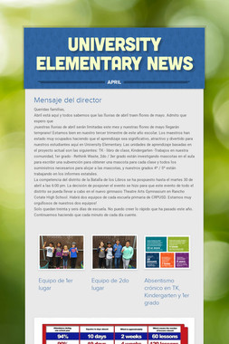 University Elementary News