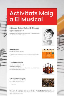 Activitats Maig a El Musical