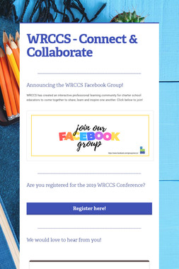 WRCCS - Connect & Collaborate
