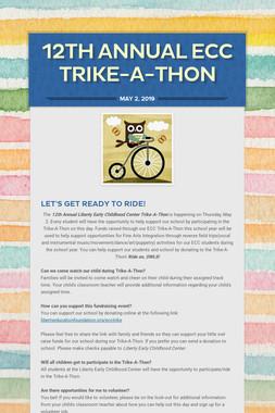 12th Annual ECC Trike-A-Thon