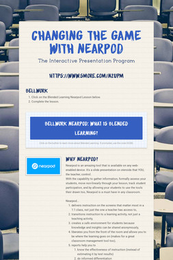 Changing the Game With Nearpod