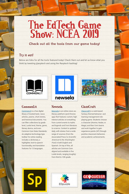 The EdTech Game Show: NCEA 2019