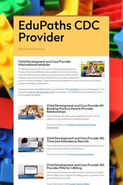 EduPaths CDC Provider