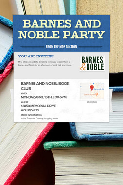 Barnes and Noble Party