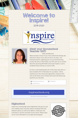 Welcome to Inspire!